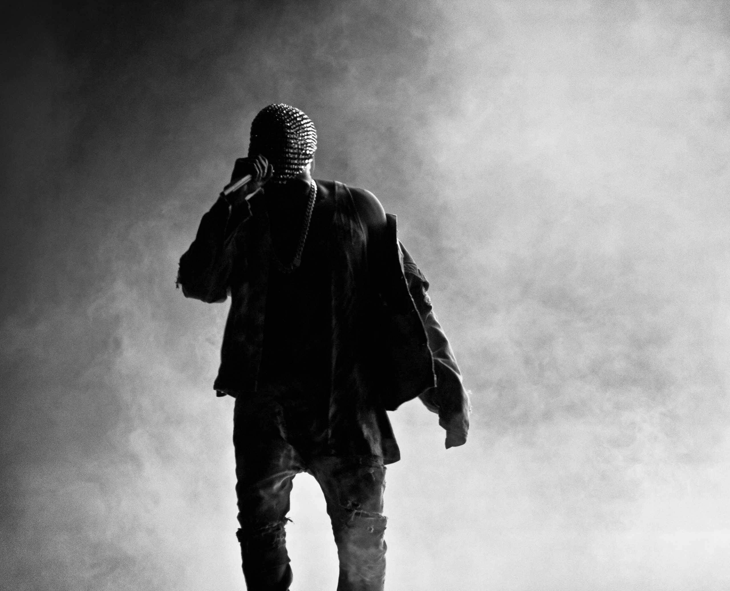 Black and White Kanye