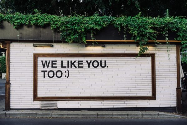 "Wall Art ""We like you too"""