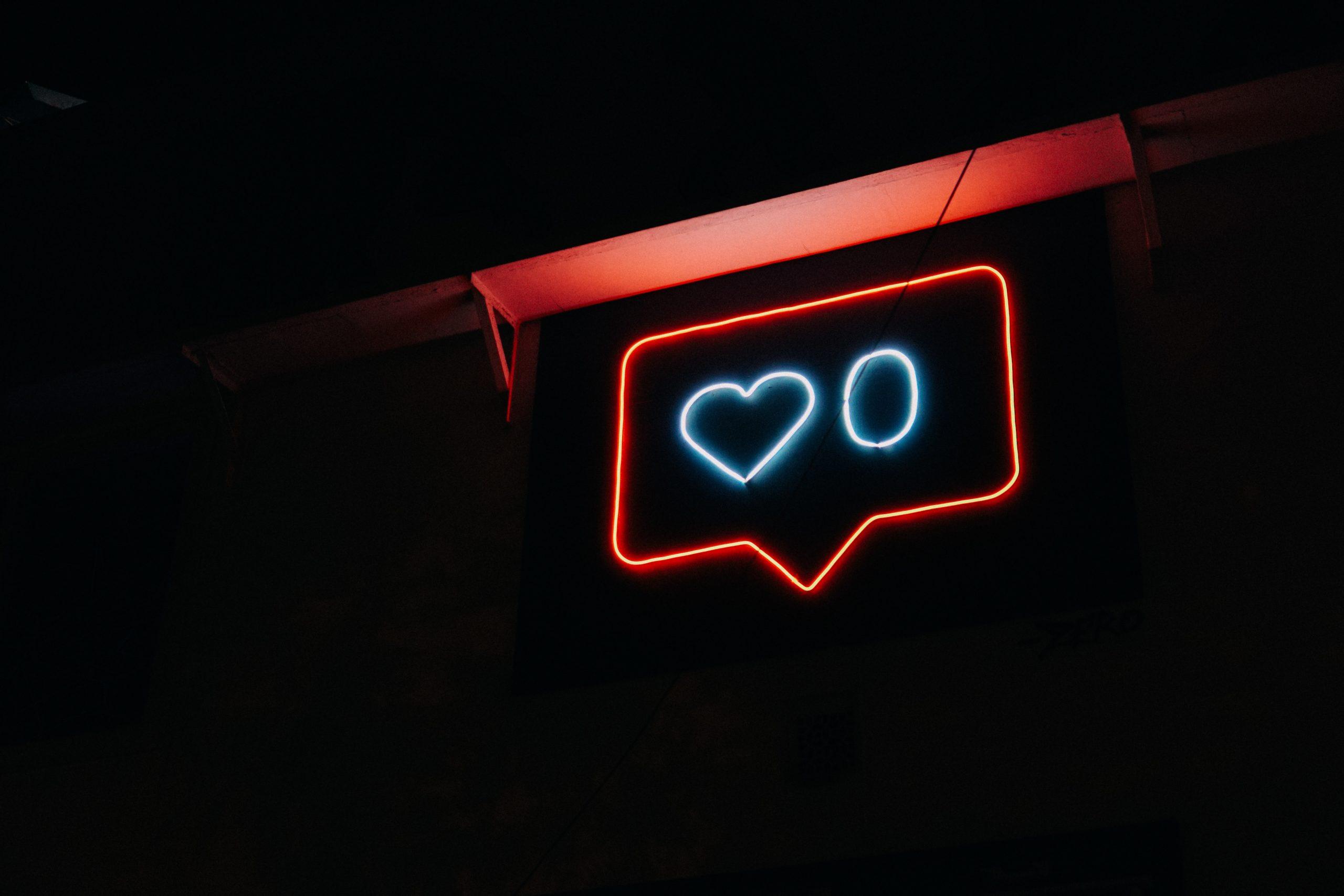 Neon Instagram Sign
