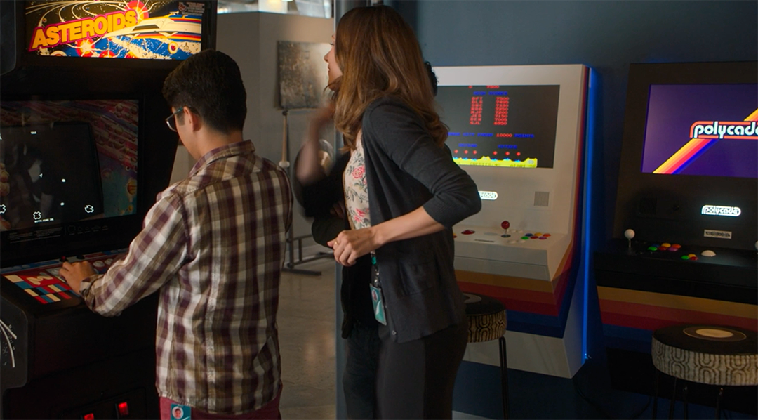 White Polycade in Silicon Valley TV Show