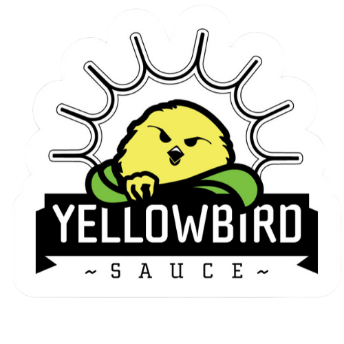 Yellowbird Logo Sticker