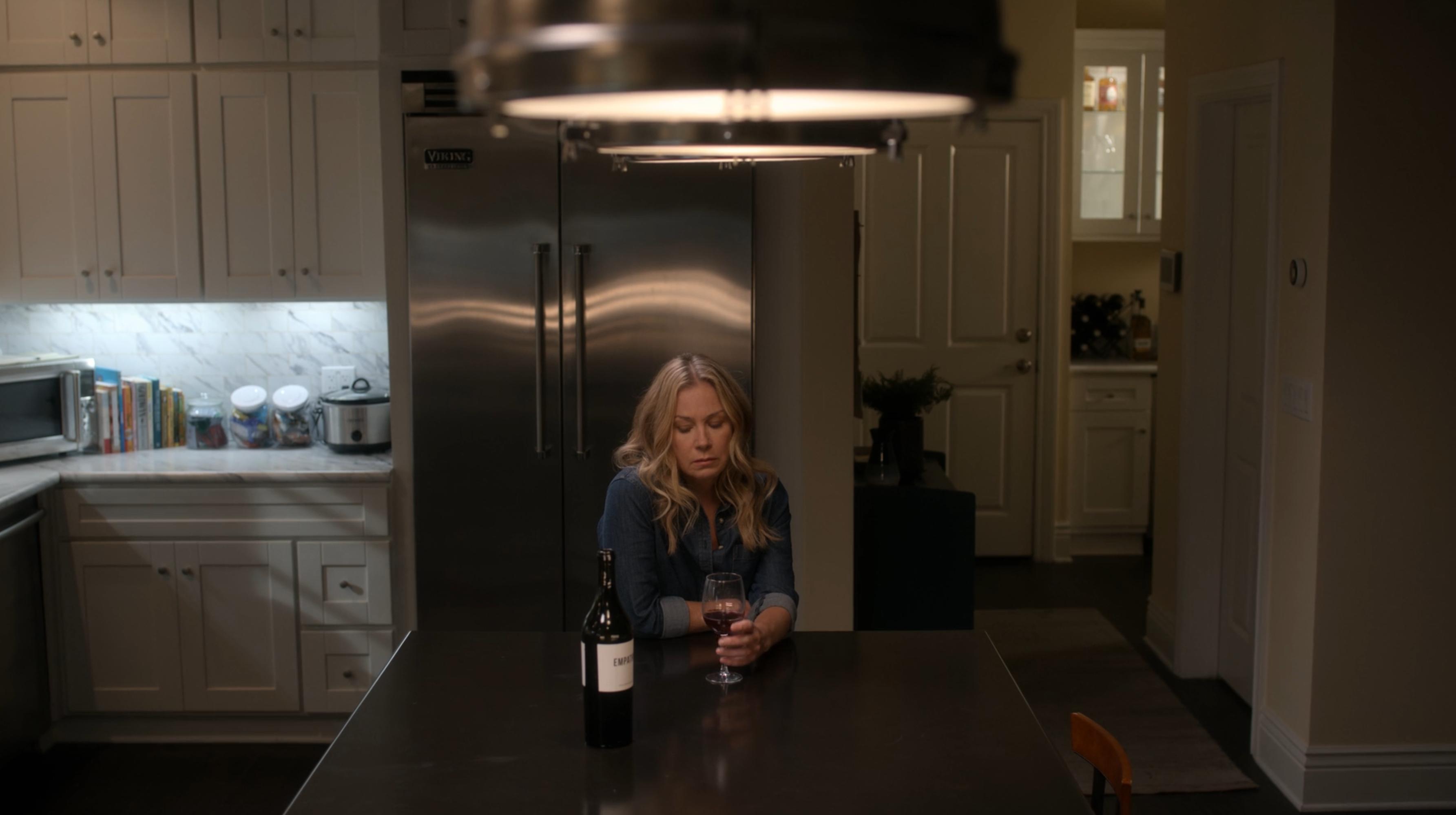 Christina Applegate Drinking Empathy Wine