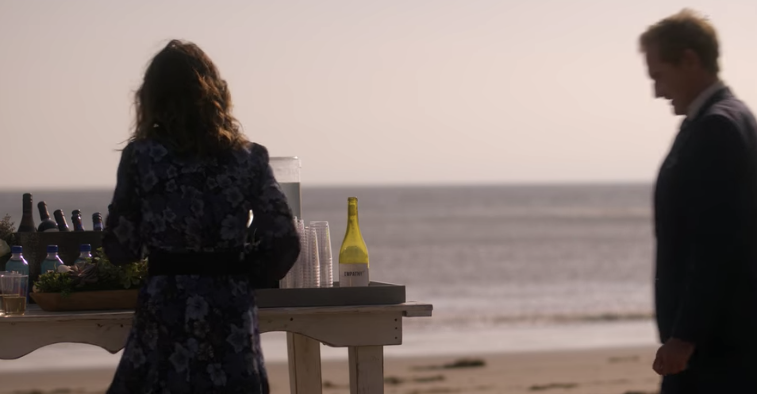 Empathy Wines Product Placement on Dead to Me